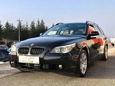 gebraucht BMW 535 5er-Reihe d Touring Österreich-Paket Aut.*Leder*Xenon*Navi*Bestpreis* Kombi / Family Van