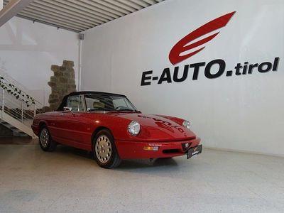 gebraucht Alfa Romeo Spider 2,0 *TRAUMCABRIO *HISTORIE *NEU ÜBERPRÜFT Cabrio / Roadster