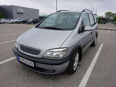 gebraucht Opel Zafira Comfort 2,0 16V DTI, Pickerl 01/2020 plus Kombi / Family Van