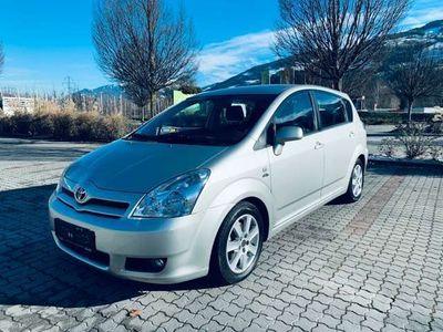 gebraucht Toyota Corolla Verso2,0 D-4D Linea Sol Ds. Klimatronik 7-Sitzer
