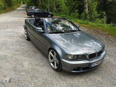 gebraucht BMW 320 Cabriolet 3er-Reihe Cabrio E46 Österreich-Paket