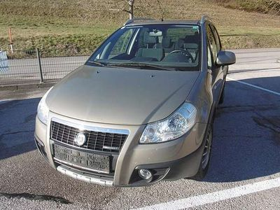 gebraucht Fiat Sedici 1,9 JTD Multijet Emotion Kombi / Family Van
