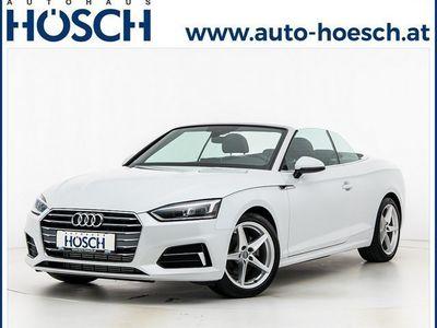 gebraucht Audi A5 Cabriolet 2.0 TFSI Sport S-tronic LP:63.577,- €