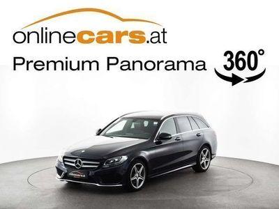 gebraucht Mercedes C200 C-Klassed T AMG-LINE LEDER NAVI Kombi / Family Van,