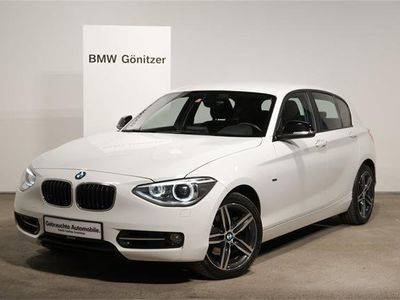 gebraucht BMW 120 1er-Reihe d xDrive Österreich-Paket Limousine,
