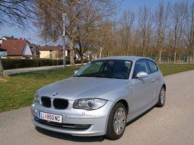 gebraucht BMW 120 Coupé 1er-Reihe d Leder Navi Xenon Sportwagen /