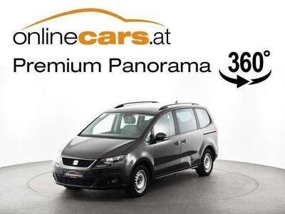 used Seat Alhambra 2,0 TDI DSG 7-SITZER NAVI RFK TEMP SHZ Kombi / Family Van,