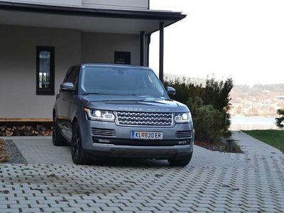 gebraucht Land Rover Range Rover 4,4 SD V8 VOGUE *TOP*8fach*SERVICEGEPFLEGT* SUV / Geländewagen