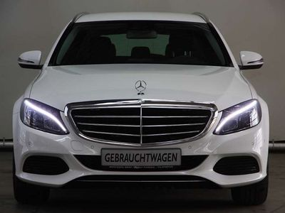 gebraucht Mercedes C220 C-Klassed T-Modell Exclusive Ext. Avantgarde Int VOLL Kombi / Family Van
