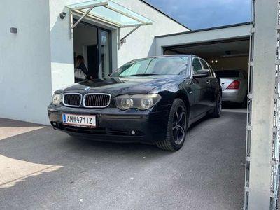 gebraucht BMW 730 7er-Reihe Diesel (E65) Österreich-Paket Aut.