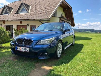 gebraucht BMW 525 5er-Reihe d M-Paket Touring Leder Handschaltung Kombi / Family Van