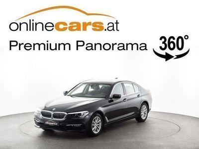 gebraucht BMW 520 5er-Reihe d Aut. NAVI LED HAMMERPREIS Limousine,