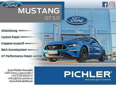 gebraucht Ford Mustang GT 5,0 Ti-VCT V8 Cabrio Aut.