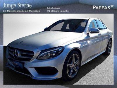 gebraucht Mercedes C200 d AMG Line Aut.