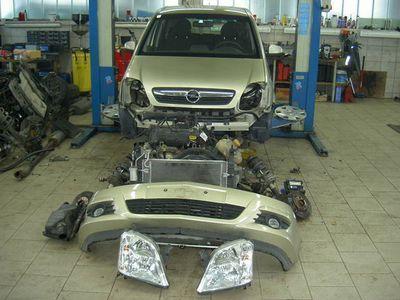 gebraucht Opel Meriva 1,4 16V Edition TEILEVERKAUF