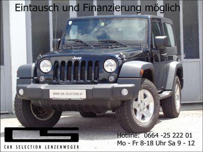 gebraucht Jeep Wrangler Sport 2,8 CRD Aut.*Pickerl und Service Neu*
