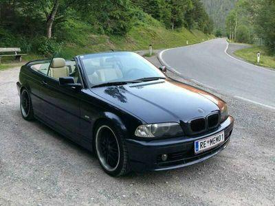 gebraucht BMW 323 Cabriolet 3er-Reihe Cabrio E46