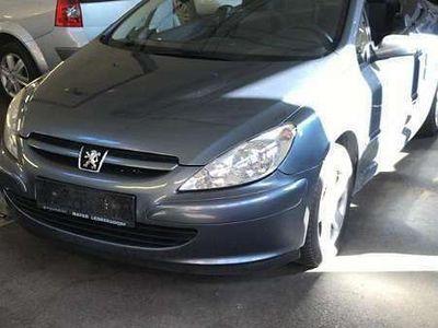 gebraucht Peugeot 307 CC 1.6 benzin / Roadster