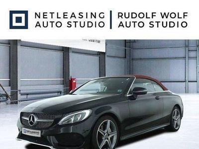 brugt Mercedes C200 Cabrio AMG+Cabrio Komf.+Navi+Spiegelp.+SHZ