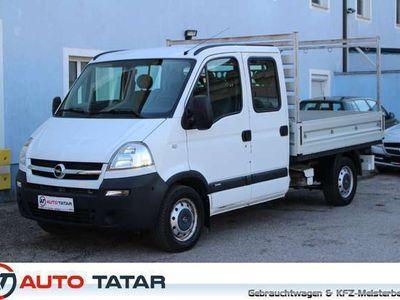 gebraucht Opel Movano L2H1 DK 2,5 CDTI 3,5t DPF | Pritsche | 6 Sitzer |