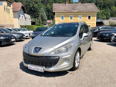 gebraucht Peugeot 308 SW 1,6 HDi 110 FAP Exclusive *Pickerl*Panorama* Kombi / Family Van