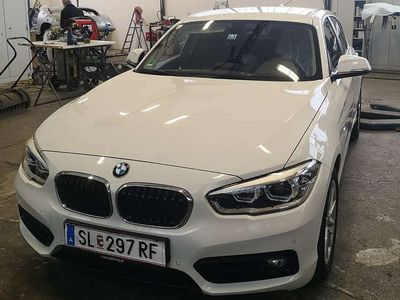gebraucht BMW 118 1er-Reihe d Sport Line Automatik Limousine