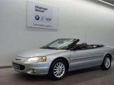 gebraucht Chrysler Sebring Cabriolet Cabrio 2,7 LX Aut. / Roadster