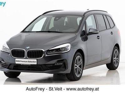 gebraucht BMW 218 Gran Tourer 2er-Reihe d Sport Line Aut. Kombi / Family Van