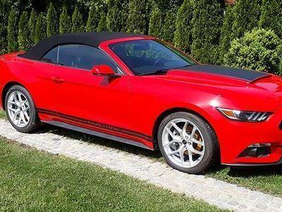 gebraucht Ford Mustang Cabrio 2,3 Turbo Ecoboost 317 Ps Autom Leder Klima Cabrio / Roadster