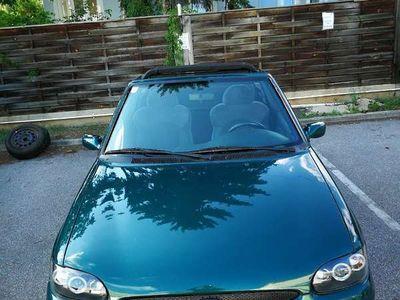 gebraucht Ford Escort Cabriolet 1.4 clx / Roadster,