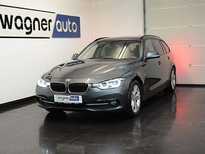 gebraucht BMW 320 3er-Reihe d xDrive Touring Sport Line Aut. Navi/LED/LC... Kombi / Family Van