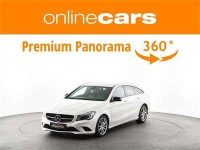 gebraucht Mercedes CLA220 Shooting Brake CLA-Klasse d Aut. NAVI XENON 18-ZOL... Kombi / Family Van