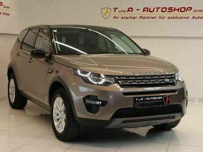 gebraucht Land Rover Discovery Sport 2.2 TD4 Autom. *AHK*Glasdach*Sitzheizung*