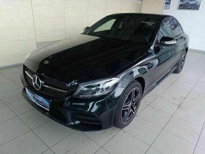 gebraucht Mercedes C220 d 4MATIC AMG/Sportpaket/Allrad/LED/Comand/Leder