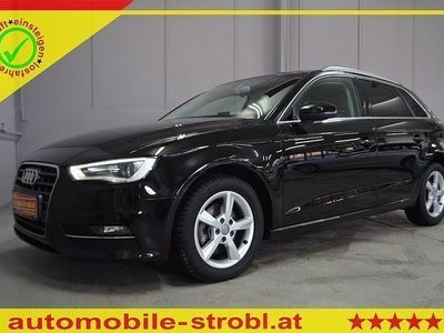 gebraucht Audi A3 Sportback Ambie. 2,0 TDI S-tr/Standhzg./Xenon/Leder uvm.