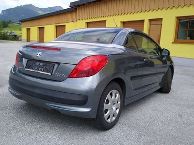 gebraucht Peugeot 207 CC ACT 1.6 Cabrio / Roadster