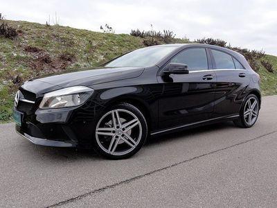 brugt Mercedes A200 A-Klassed Aut.*AMG 18 ZOLL/1.BESITZ* Limousine,