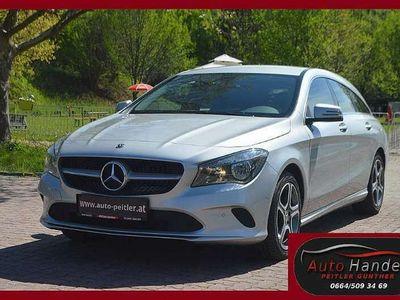 gebraucht Mercedes CLA200 d Shooting Brake+Leder+NAVI+AHK+SHZ+PDC+