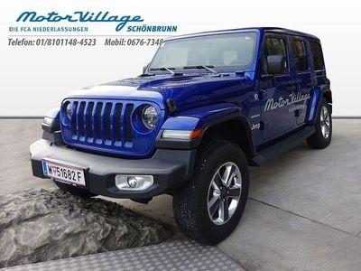 gebraucht Jeep Wrangler Sahara 2,0 GME Aut.