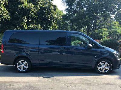 gebraucht Mercedes Vito Tourer 114 CDI Extralang Kombi / Family Van
