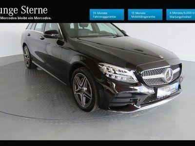 gebraucht Mercedes C180 d T-Modell AMG LINE NEUES MODELL! Aut.