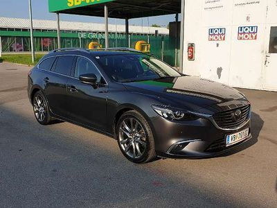 gebraucht Mazda 6 G192 RevolutionTop +Navi Kombi / Family Van