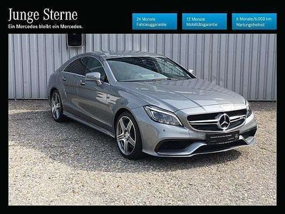 gebraucht Mercedes CLS63 AMG CLS-KlasseAMG 4MATIC Aut. Sportwagen / Coupé