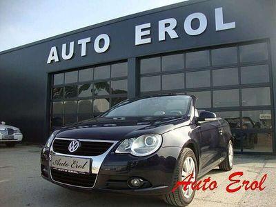 gebraucht VW Eos 1,6 FSI Navi Leder Cabrio