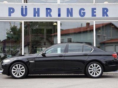 gebraucht BMW 520 5er-Reihe d Aut. *Leder zimtbraun*Navi* Limousine