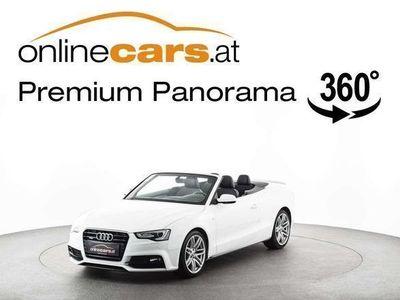 gebraucht Audi A5 Cabriolet Cabrio S-LINE quattro 2,0 TDI XENON NAVI / Roadster,