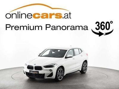gebraucht BMW X2 sDrive18i Aut. M-Sport LED NAVI SHZ MEGAVOLL