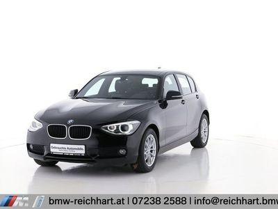 used BMW 118 1er-Reihe d Österreich-Paket Limousine,