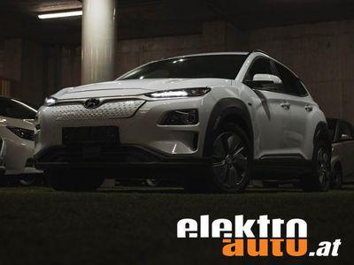 gebraucht Hyundai Kona Elektro 64kWh * LEDER-Ausstattung