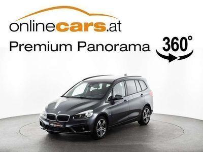 gebraucht BMW 218 d Grand Tourer SPORT LINE Aut. LED R-KAMERA NAVI MEGAPREIS